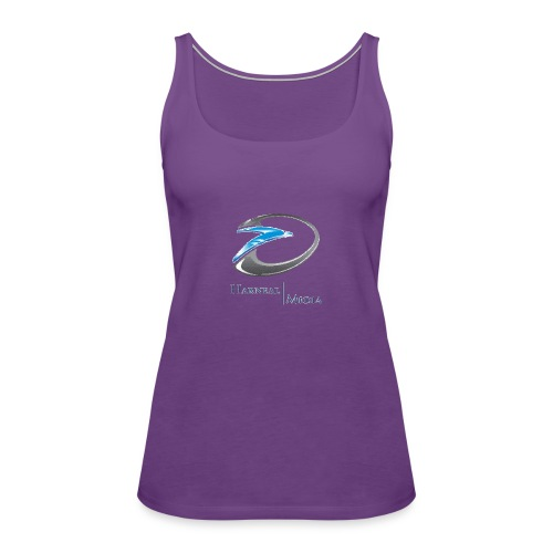 Harneal Media Logo Products - Women's Premium Tank Top