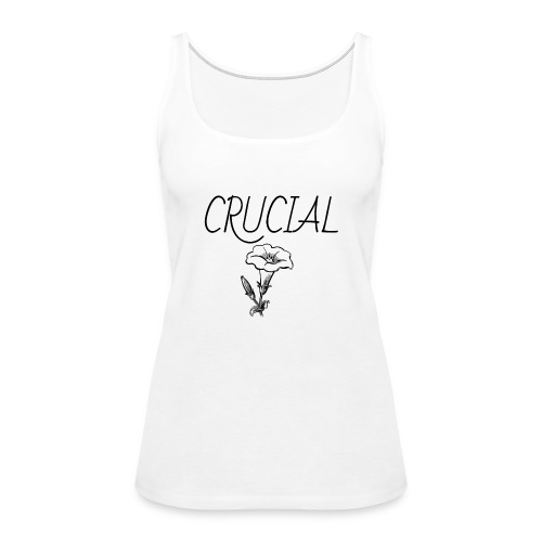 Crucial Abstract Design - Women's Premium Tank Top