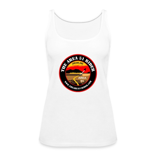 NEW Area 51 Rider Logo - Women's Premium Tank Top
