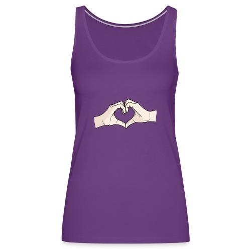 Heart Hands - Women's Premium Tank Top