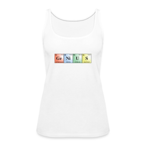 GeNiUS - Women's Premium Tank Top