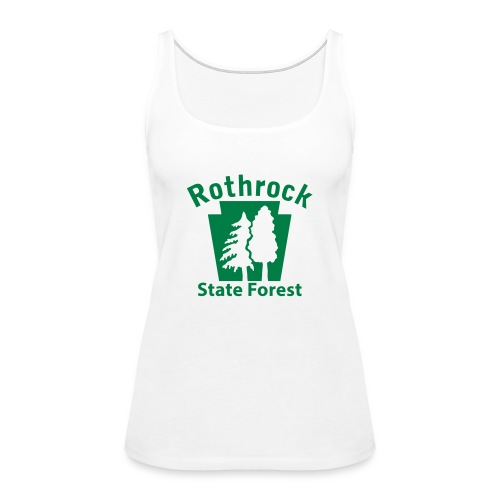 Rothrock State Forest Keystone (w/trees) - Women's Premium Tank Top