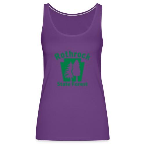 Rothrock State Forest Keystone (w/trees) - Women's Premium Tank Top