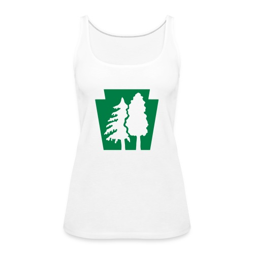 PA Keystone w/trees - Women's Premium Tank Top