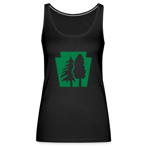 PA Keystone w/trees - Women's Premium Tank Top
