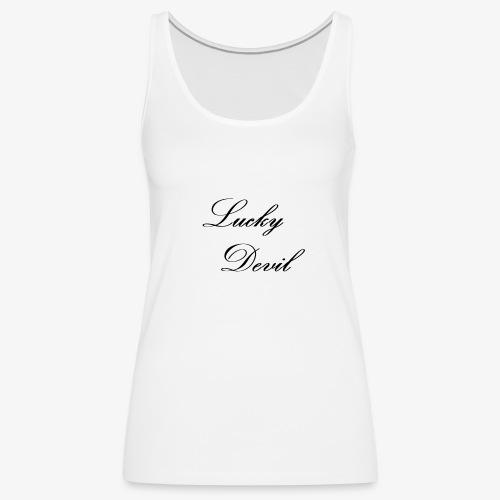 Lucky Devil OG - Women's Premium Tank Top