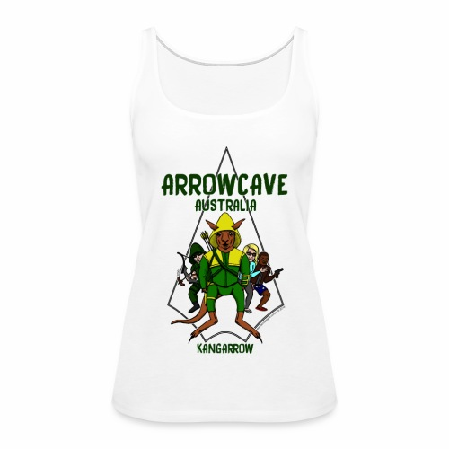 Arrow Cave Logo - Women's Premium Tank Top