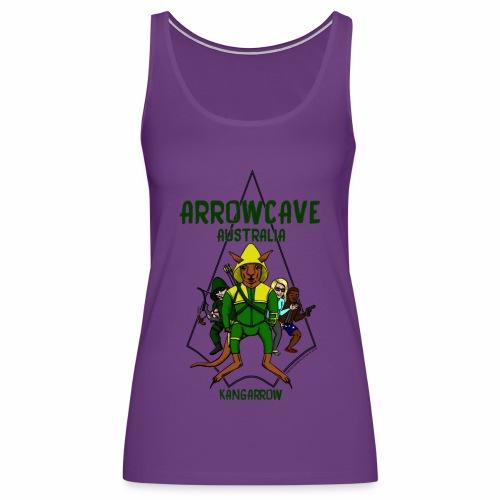 Arrow Cave Logo - Women's Premium Tank Top