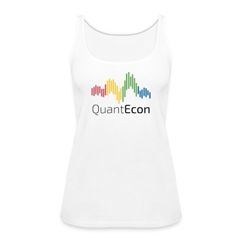 QuantEcon Official Logo - Women's Premium Tank Top