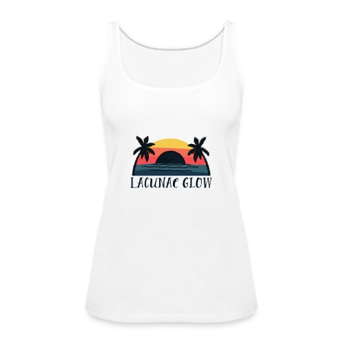 Palms Sunset - Women's Premium Tank Top
