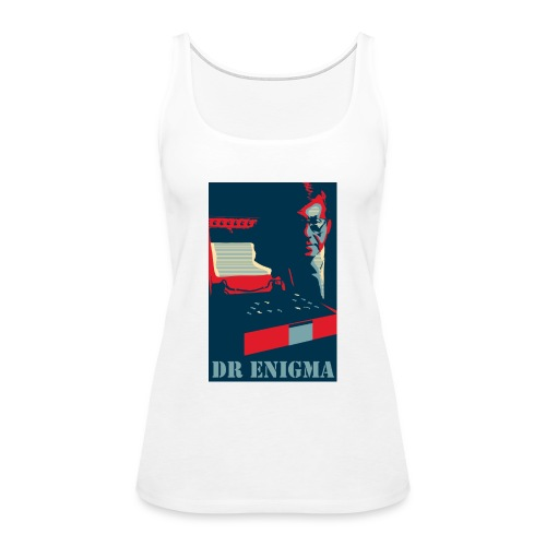 Dr Enigma+Enigma Machine - Women's Premium Tank Top