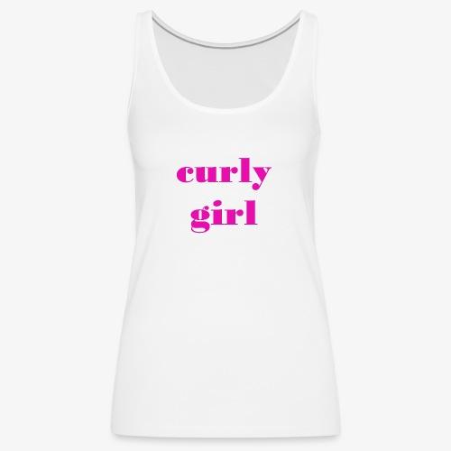 Curly Girl - Women's Premium Tank Top
