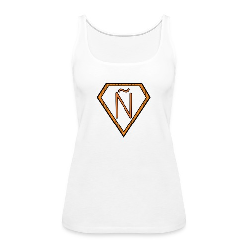 Ñ Orange - Women's Premium Tank Top