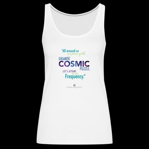 Cosmic Puzzle Mug - Women's Premium Tank Top