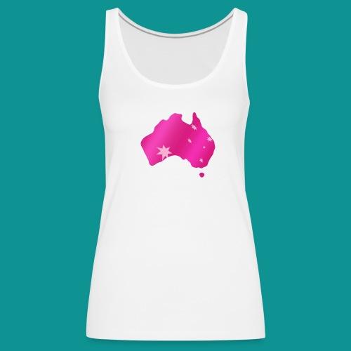 Pink Australia - Fembuiz Logo - Women's Premium Tank Top