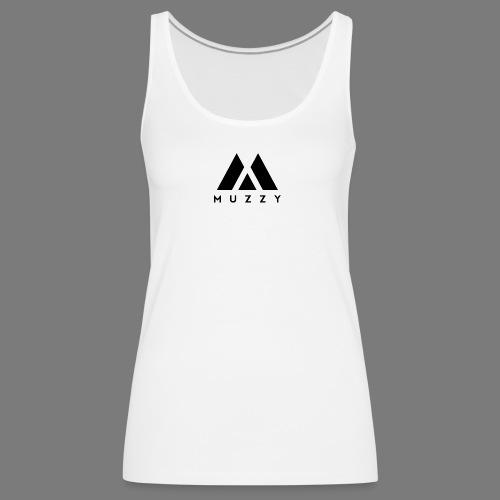 MUZZY Offical Logo Black - Women's Premium Tank Top