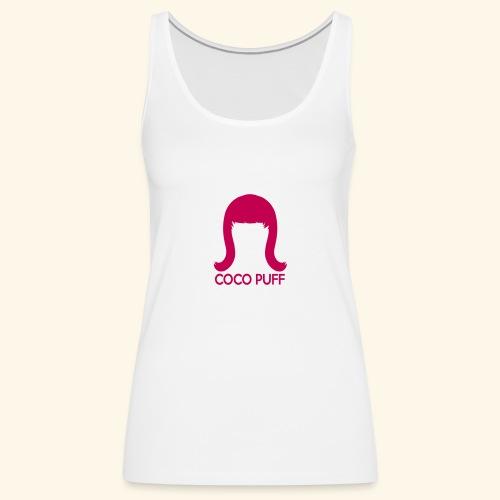 Coco Peru Fan Logo - Women's Premium Tank Top