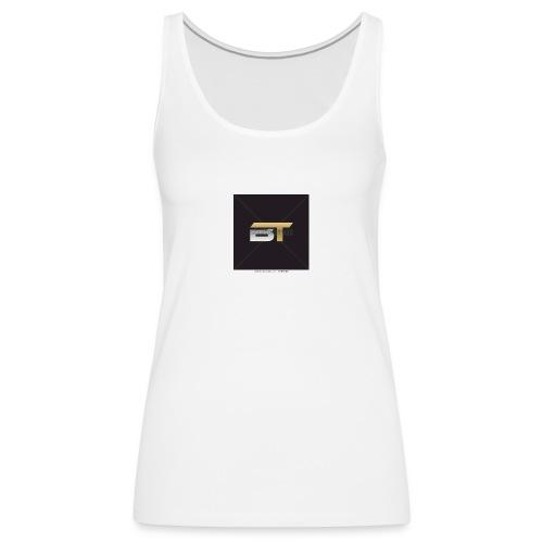 BT logo golden - Women's Premium Tank Top