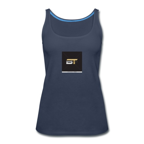 BT logo golden - Women's Premium Tank Top