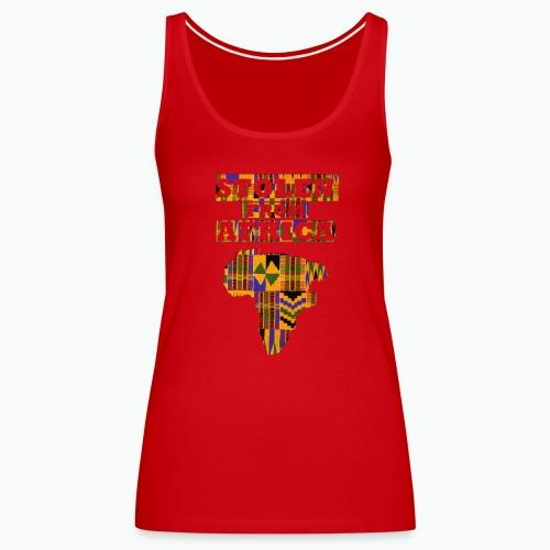 STOLEN FROM AFRICA Kente - Women's Premium Tank Top