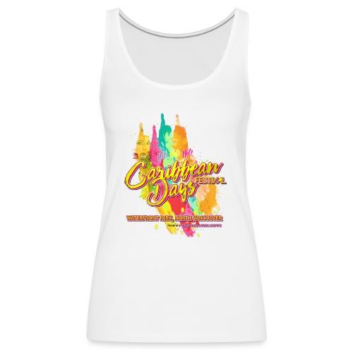 Caribbean Days Festival = Hot! Hot! Hot! - Women's Premium Tank Top