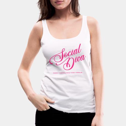 social fashion diva style - Women's Premium Tank Top