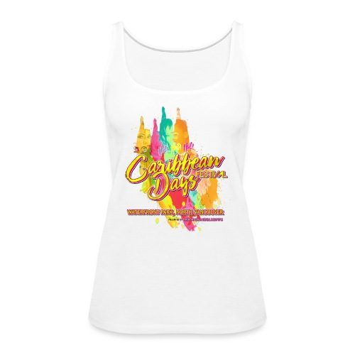 Caribbean Days Festival = Hot! Hot! Hot! - Women's Premium Tank Top