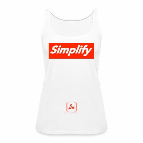 Simplify [fbt] - Women's Premium Tank Top