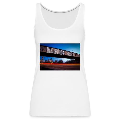 Husttle City Bridge - Women's Premium Tank Top