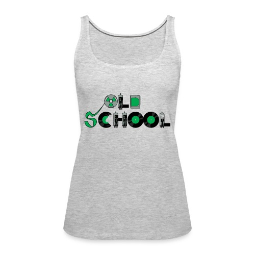 Old School Music - Women's Premium Tank Top