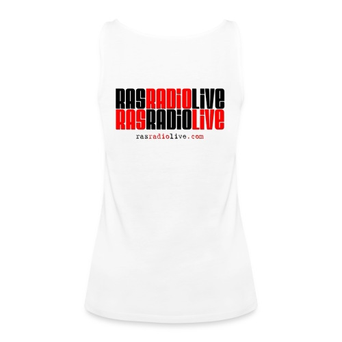 rasradiolive logo fixed png - Women's Premium Tank Top