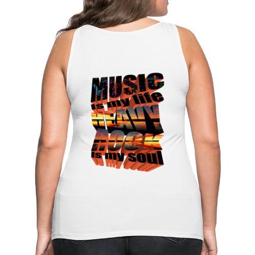 Music is... - Women's Premium Tank Top