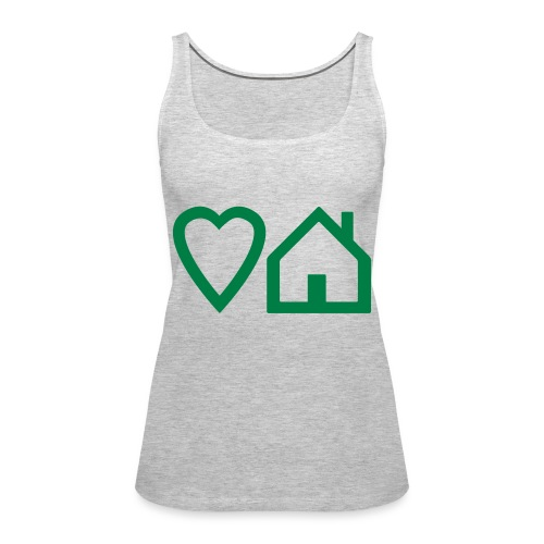 ts-3-love-house-music - Women's Premium Tank Top