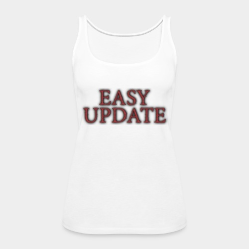 Easy Update Logo Red - Women's Premium Tank Top