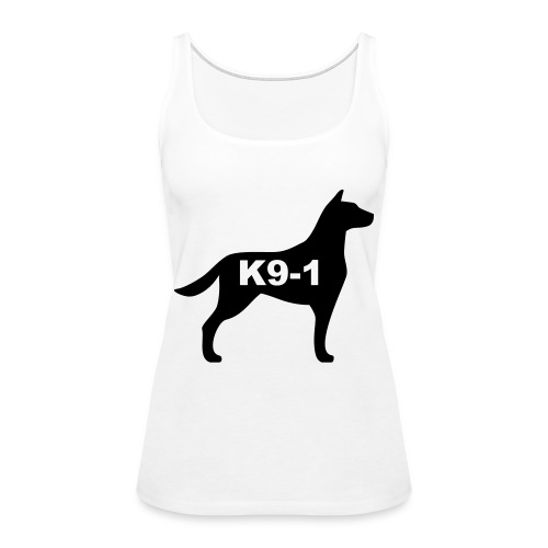 k9-1 Logo Large - Women's Premium Tank Top