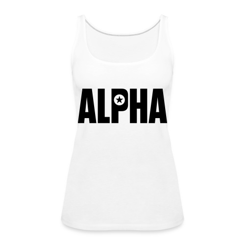 ALPHA - Women's Premium Tank Top