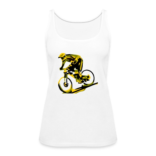 DH Freak - Mountain Bike Hoodie - Women's Premium Tank Top