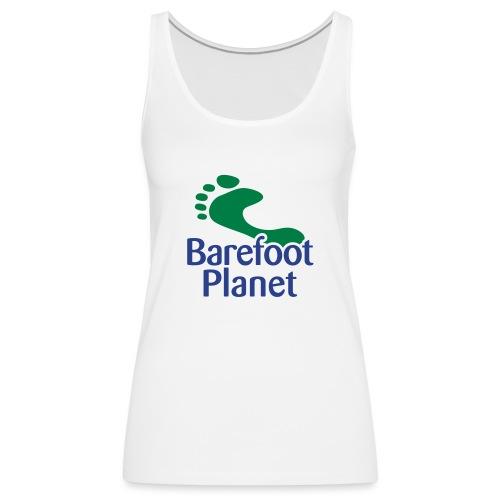 I Run Better, I Run Barefoot Women's T-Shirts - Women's Premium Tank Top