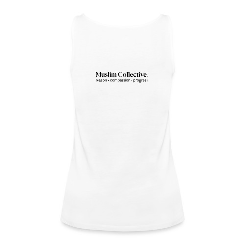 Muslim Collective Logo + tagline - Women's Premium Tank Top