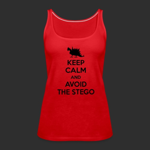 Keep Calm Black - Women's Premium Tank Top
