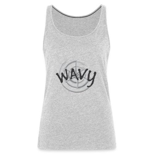 Wavy - Women's Premium Tank Top