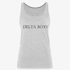DeltaBoys Stonescript - Women's Premium Tank Top