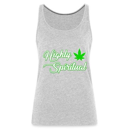 Highly Spiritual Logo - Women's Premium Tank Top