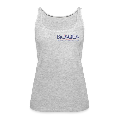 bioaqua no.1 logo - Women's Premium Tank Top