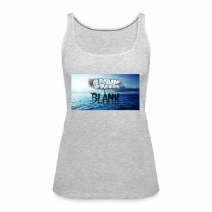 Ocean Blank Cloud - Women's Premium Tank Top