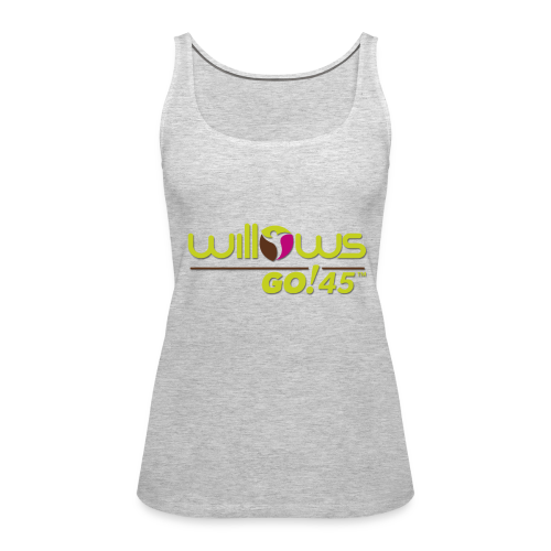 Willows Go45 - Women's Premium Tank Top