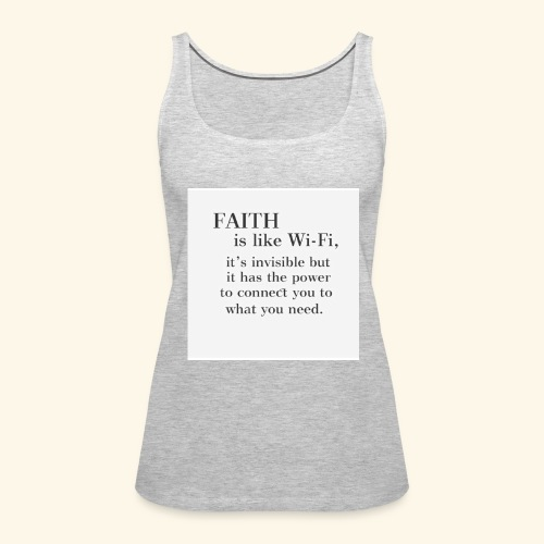 Faith - Women's Premium Tank Top