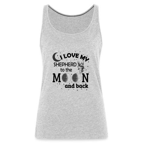 I Love My Shepherd - Women's Premium Tank Top