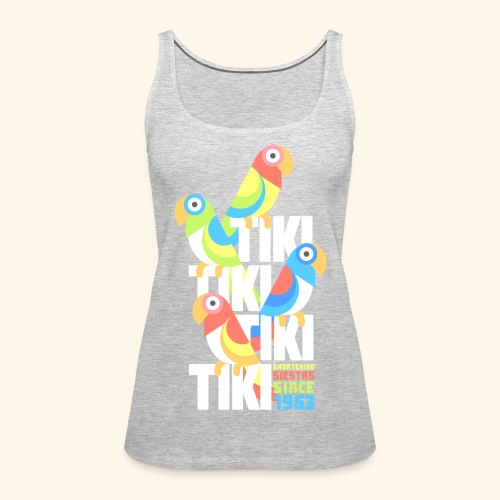 Tiki Room - Women's Premium Tank Top