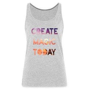 Create Magic Today - Sunset - Women's Premium Tank Top